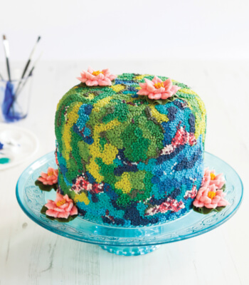 waterlily_buttercream_cake