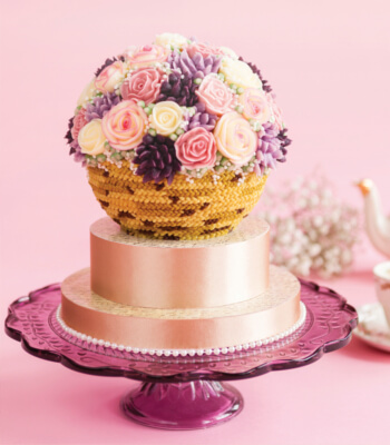 flower_basket_buttercream_cake