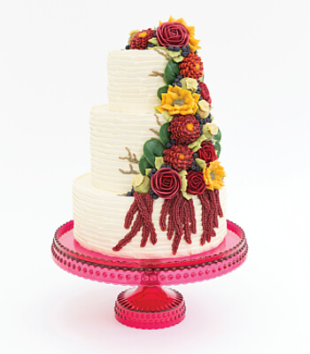 autumn_floral_buttercream_cake