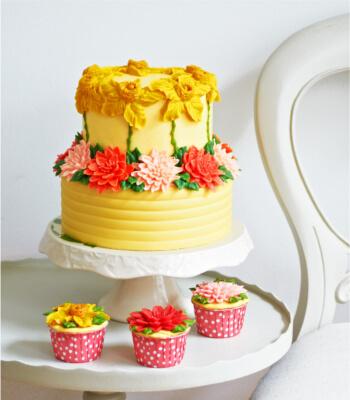 daffodil_buttercream_cake