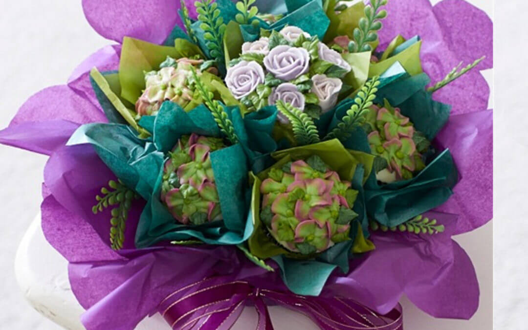 How to Make Simple Cupcake Bouquet